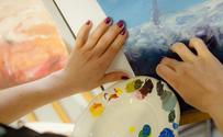 Atelier de peinture en art-thérapie
