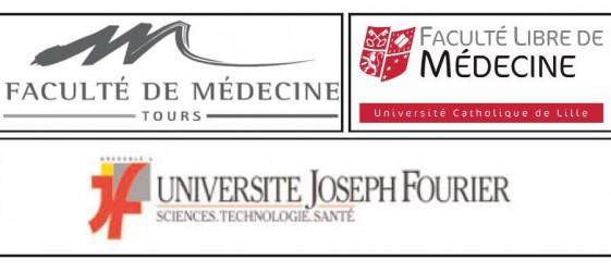 Faculté de médecine de Tours et de Lille et Université Joseph Fourier